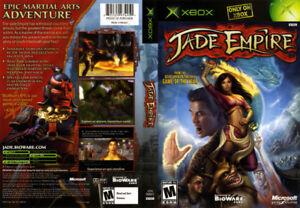 [RARE] Xbox Original Jade Empire, Otogi 2, Full Spectrum Warrior