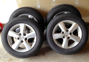 Mazda 3 Motomaster SE2 Tires and Alloy Rims