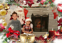 149$ Christmas Party with Santa Claus's visit and Photo Booth