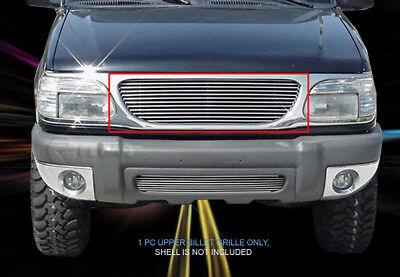 - Polished Billet Grille Front Grill Insert For 1995-2001 Ford Explorer