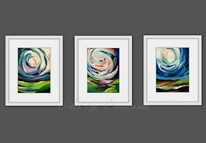 SALE Original Paintings, Fine Abstract Art by Canadian Artist