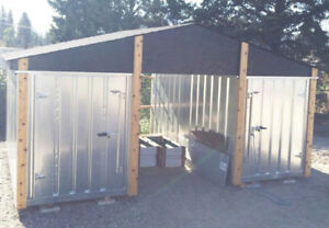 STORAGE SHEDS. SECURE, WEATHERPROOF STORAGE UNITS. KWIK-STOR