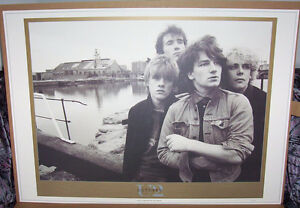 "U2 Limited Edition Lithograph ""OCTOBER"""