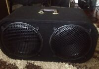 """2x12"""" cab loaded with Celestion speakers"""