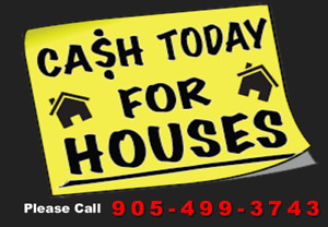 We Will Buy Any Oshawa House & Pay CA$H! Inquire to Us Now!!