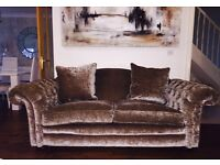 DFS LOCH LEVEN SOFA X2 4 PILLOWS INCLUDED