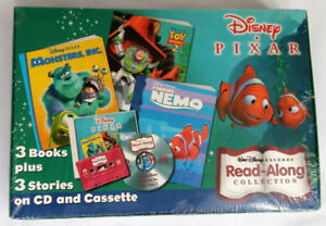 Disney Pixar Read-Along CD and Cassette Collection Books