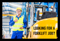 101 Forklift Jobs Immediately Available-Jobs Pay $18 and $19+