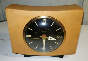 Clock Westclox Pittsfield Blond Luminous