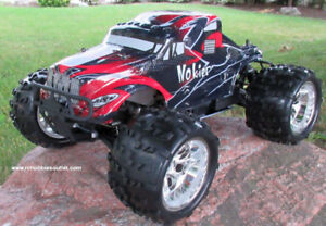 New RC  Truck HSP 1/8 Scale 3.5cc Nitro Engine  4WD 2.4G