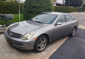 2004 Infiniti G35x Sedan - No accidents - Negotiable