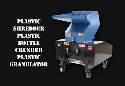 Plastic Shredder Plastic Bottle Crusher Plastic Granulator Crusher220v 2.2kw