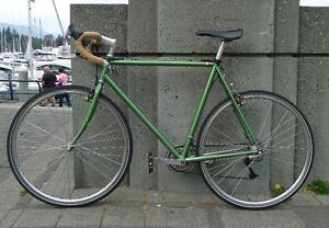 vintage limited edition Ibis Hakkalugi steel bike