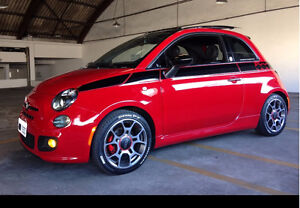2012 Fiat 500 Prima Edizione Red Coupe (2 door)