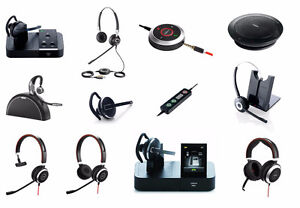Jabra Corded / Wireless Noise Cancelling Call Center Headsets