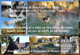 Dog Holidays, 3 miles from Nairn.
