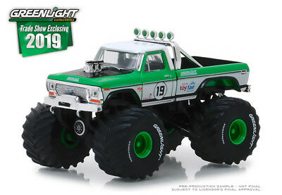 Greenlight 2019 Trade Show Exclusive 1974 Ford F-250 Monster Truck #19 ](Monster Craft)