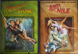 Romancing The Stone/The Jewel Of The Nile (1984/1985) DVD