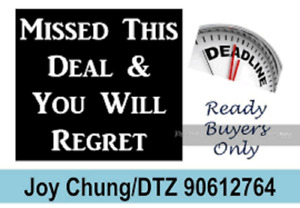 DETACH HOME  $60,000 BELOW MARKET IF SELL IN 30DAY