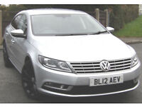 Volkswagen Passat CC 2.0 TDI GT (140ps) BMT 2012 Silver with Leather & Nav