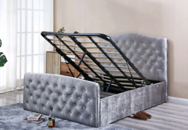 🔴🟣💫CASH ON COLLECTION HIGH QUALITY GAS LIFT STORAGE BED FRAMES ON DISCOUNT 🔴🟣💫