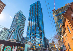 2 BED ROOM CONDO FOR SALE- ADELAIDE AND KING ST
