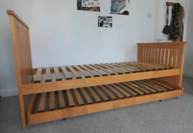 Solid Wood Bed frame - Contemporary design with added options
