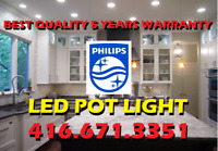 1# PHILIPS® LED POT LIGHTS PROFESSIONAL INSTALLATION FROM $55