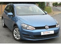 Volkswagen GOLF SE 1.6 TDI 105ps ( s/s ) 2013 - 38k mi : £0 Tax