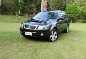 2006 Ford Territory TURBO 4X4 AWD 6 Speed Auto 175klms