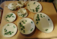 ENGLISH PORCELAIN DINING SET