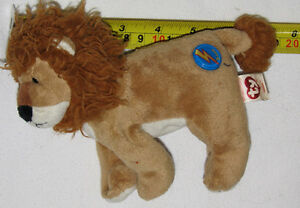Midas the Lion TY Beanie Plush Toy London Ontario image 1