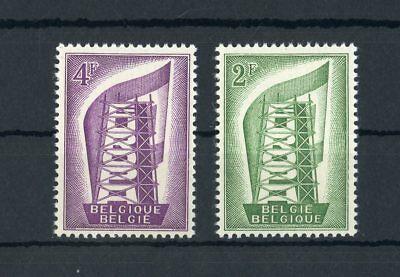 BELGIEN NR 1043 1044 EUROPA CEPT 1956 ME 18 117456