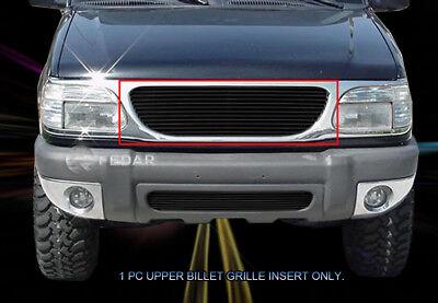 - 95-01 Ford Explorer Black Billet Grille Grill Insert Fedar