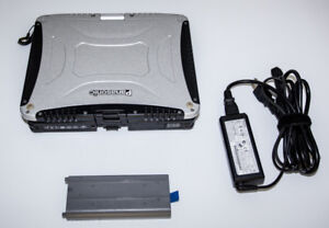 Portable Panasonic Toughbook CF-19 – 128Gb SSD – 2 batteries