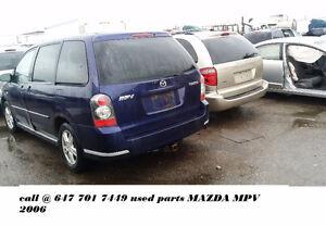 Mazda Mpv Parts