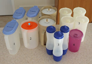 Tupperware - Various Pitchers and Water Bottles Cambridge Kitchener Area image 1