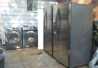 Appliances (stainless steel French door refrigerator, Washers)