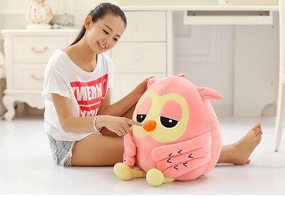 50cm Big Owl Plush Giant Large Stuffed Soft Toy Doll Pillow