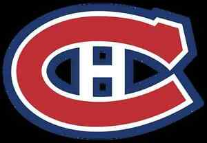 Billets Canadiens Section Rouge 117