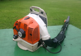 STIHL BR430 BACK PACK LEAF BLOWER SERVICED READY FOR WORK £265