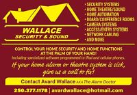 Wallace Security & Sound Inc.