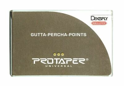 Dentsply Protaper Univeral Obturation Gutta Percha Points F1f2f3 Assorted Pack