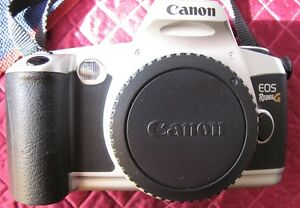 CANON EOS REBEL G QD 35mm FILM CAMERA 28-80 LENS 1:3-5.6