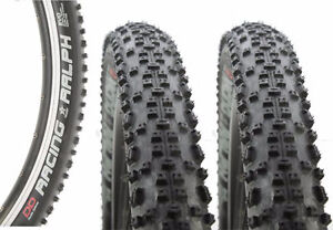 2 New Schwalble Racing Ralph tires