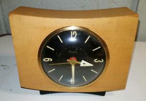 Clock Westclox Pittsfield Blond Luminous