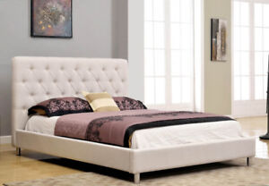 JULIAN Upholstered Platform Queen Beds ( Pay on Delivery )