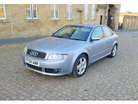 2004 54 Reg Silver Audi A4 1.9 TDI Sports, 5 Door, Automatic Only 72K Miles, Full Service History