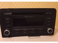 Audi A3 Concert Stereo CD / MP3