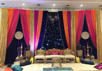 INDIAN PAKISTANI BACKDROP  PACKAGES STARTING $500